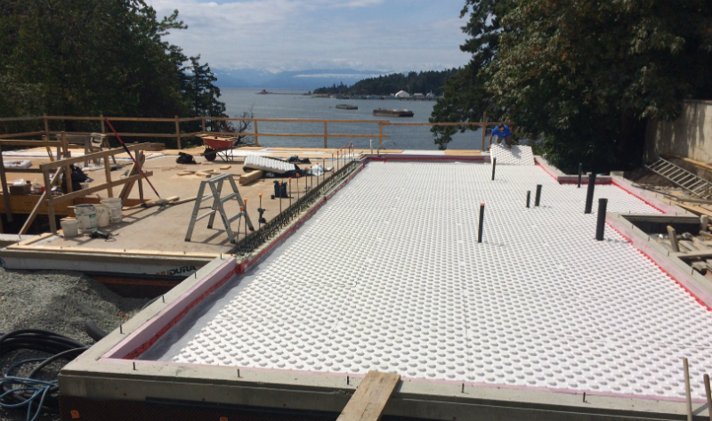 Radiant Floor Heating Video Blog